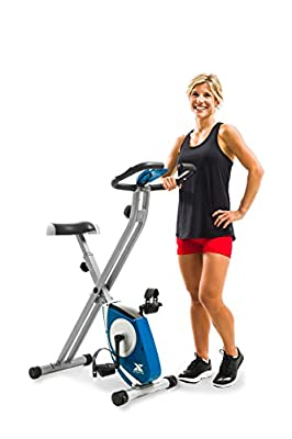 XTERRA FB150 Folding Exercise Bike, Silver