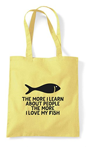 People Learn I Lover My Animal Person Pets Fish The Shopper About Funny More Lemon Love Bag Tote nEIAvqpv