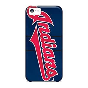 Iphone 5c OPz17024trKP Custom HD Cleveland Indians Series Protector Hard Cell-phone Cases -InesWeldon