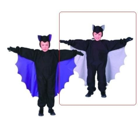Cute - T- Bat Wings Child Costume, Grey (Medium) - Bat Costumes For Boys