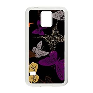Butterfly DIY Cover Case for SamSung Galaxy S5 I9600,customized Butterfly Phone Case