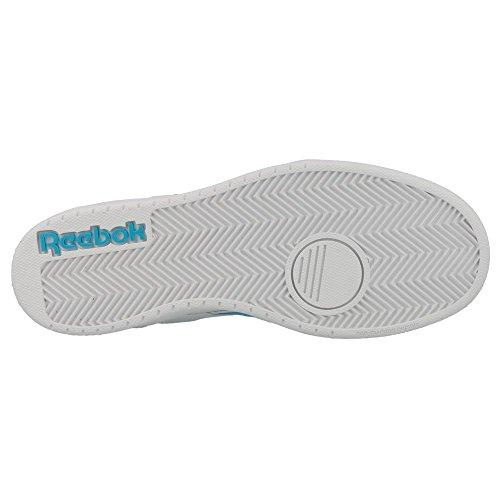 Reebok - Royal - M42280 - Color: Blanco-Celeste - Size: 32.5