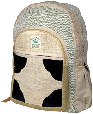 Polykarmatic Hemp Handmade Himlayan Backpack THC Free