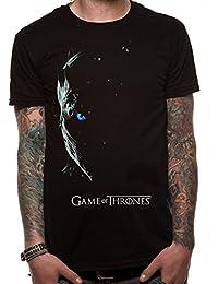 Official Men's Game of Thrones White Walker Black T-Shirt | Sizes S-XXL