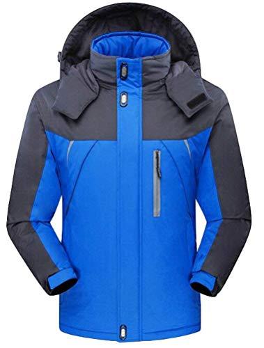 Unisex nbsp; Invernali Impermeabile Marca Manica Donna Addensare Outdoor Cappotto Bolawoo Giacca Casuale Blau Caldo Joggers Funzionale Outwear Camping Di Lunga Incappucciato Mode ZOwXukPiT
