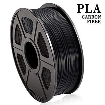 Fibra de carbono rellena de PLA, fibra de carbono extremadamente ...