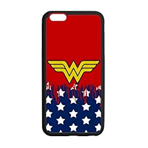 Wonder Woman Symbol Case Custom Durable Hard Cover Case for iPhone 6 - 4.7 inches case - Black Case