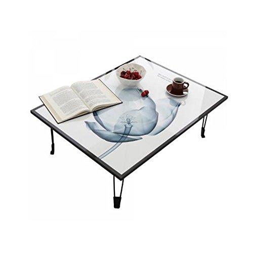 (iHome Tulip Low Profile Folding Legs Coffee/Tea/Computer/Book/Wall Decoration Table. (Large))