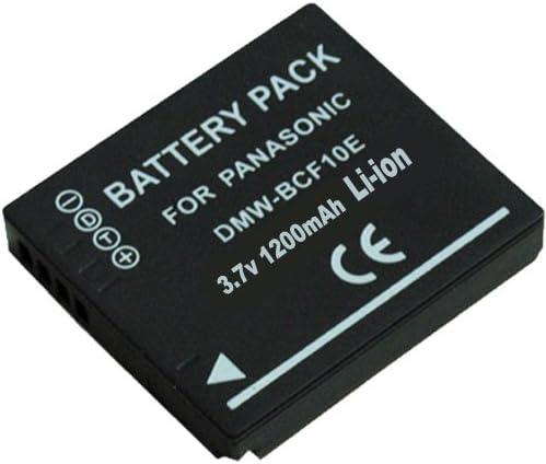 Panasonic Lumix DMC-FH1 Digital Camera Accessory Kit includes SDM-1508 Charger SDDMWBCF10 Battery KSD2GB Memory Card
