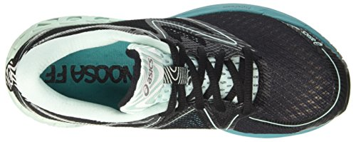 Asics Noosa FF, Scarpe Sportive Outdoor Donna Multicolore (Black/Bay/Viridian Green)