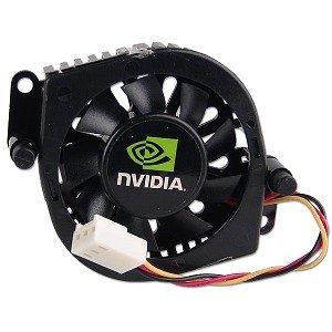 Nvidia Chipset - NVIDIA Southbridge Chipset Cooler w/3-Pin Connector (Black)