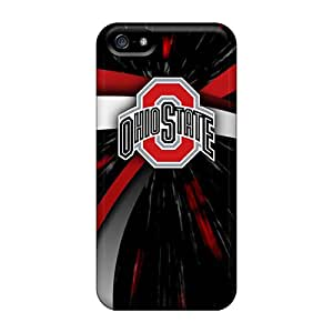 Shock Absorbent Hard Phone Case For Apple Iphone 5/5s With Allow Personal Design Beautiful Ohio State Image KennethKaczmarek
