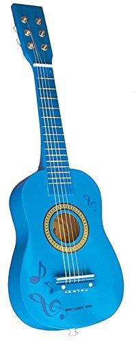 New Classic Toys - 2042886 - Guitare En Bleu Avec Notes De Musique