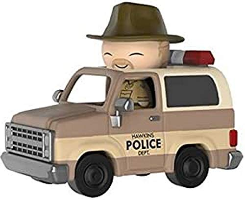 Funko- Stranger Things Hopper and Sheriff Deputy Truck Figura de Vinilo (214