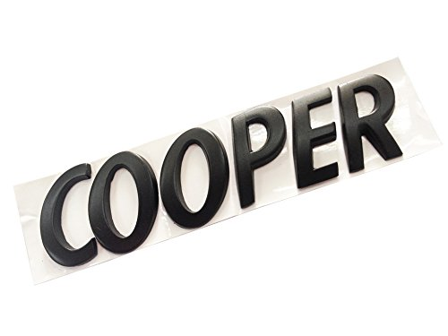 Dian Bin-The Black Cooper Letters Metal Sticker Vehicle-Logo badge car Emblem for MINI BMW Available