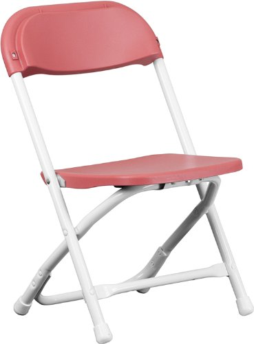 Burgundy Plastic Folding Chair (Flash Furniture Kids Burgundy Plastic Folding Chair)