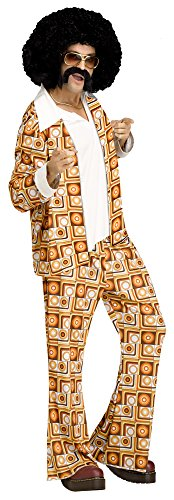 Disco Dude Adult Costume - Standard - Disco Dude Adult Mens Costumes