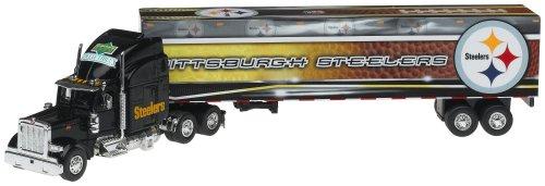 Pittsburgh Steelers Upper Deck Collectibles NFL Peterbilt Tractor-Trailer (Peterbilt Deck Upper Tractor Trailer)