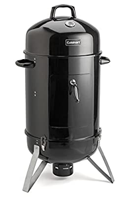 Cuisinart Vertical Charcoal Smoker, Black by Cuisinart