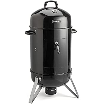 "Cuisinart COS-118 Vertical 18"" Charcoal Smoker, Black"