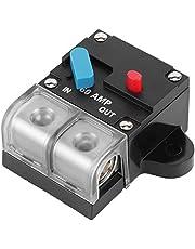 Circuit Breaker Trolling Motor 12‑24V Auto Car Marine Boat Bike Stereo Audio Inline Fuse Holder
