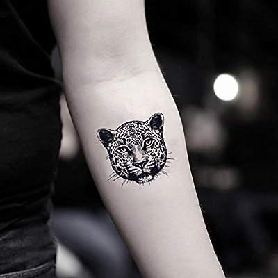 Tatuaje Temporal de leopardo (2 Piezas) - www.ohmytat.com: Amazon ...