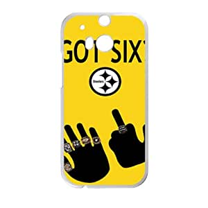 steelers logo Phone high quality Case for HTC One M8