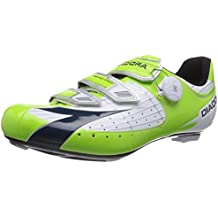 Diadora Men's Vortex Comp Road Cycling Shoe - 160847 (Lime Green/Navy - 41)