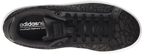 Adidas Neo Dames Schoenen Cloudfoam Voordeel Casual Moderne Mode Bb9606 Kern Zwart / Kern Zwart / Zwart Nut