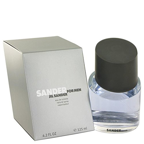 Sander by Jil Sander Eau De Toilette Spray 4.2 oz (De Toilette Sander Eau Mint)