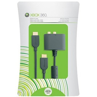 Microsoft xBox 360 HDMI with Audio Adapter - 8ft (2.4M) (Xbox 360 Live 4000 Points)