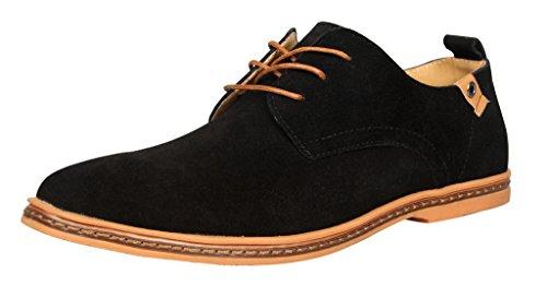 Trachten Schuhe Herrenschuhe Schnürhalbschuhe Haferl Schwarz Echt Leder DE 44