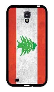 Lebanon Flag GrungeFor Case Samsung Note 4 Cover Hard Black Case