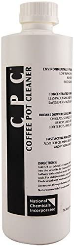 Coffee Pot Cleaner - Commercial Grade - 16 ounce bottle