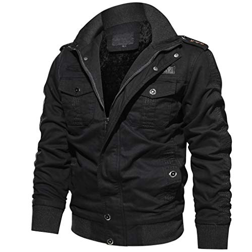 Hiver Homme Manteau Duveteuse Taille Poche Vetement Avec Pull Grande Étoffe Trench Noir Outwear Manteaux Angelof coat Blouson qEc5yK4