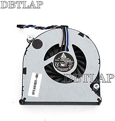 DBTLAP Ventilador de la CPU del ordenador portátil para HP 4535S ...