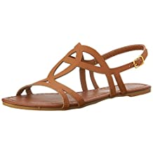 Star Bay Womens Strappy Roman Gladiator Sandals Flats Thongs Shoes
