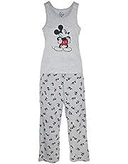 Disney Mickey Mouse Women's Tank and Pant Pajama Set