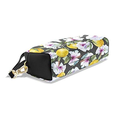 Bleistift Fall, Pen Tasche Make-up Beutel Geldbörse groß Kapazität Tropical Lemon von Studenten