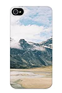 New Premium Eatcooment Valley In Auyuittuq National Park Of Canada Skin Case Cover Design Ellent Fitted For Iphone 4/4s For Lovers