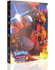 Pokemon-kaart, boekboek, Pokemon-kaart, album, Pokemon GX EX trainer, 30 pagina's, ruimte voor maximaal 240 kaarten voor Pokémon handel-kaarten GX EX