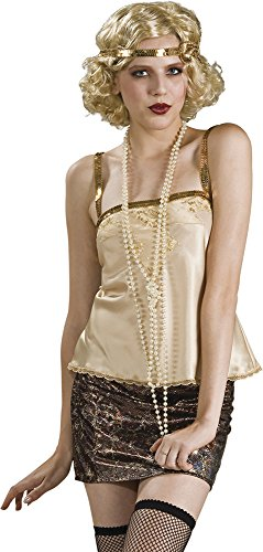 1920s Costumes Jewelry (Rubie's Costume Co Women's 60-Inch Faux Pearl Necklace, White, One Size)