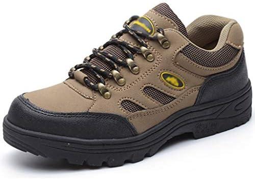 安全靴・作業靴 安全靴メンズレザー安全訓練靴超軽量コンポジットトーとケブラーミッドソールメタル (サイズ さいず : 41)