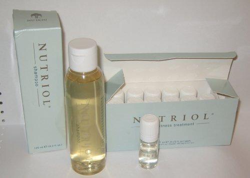 NUSKIN Nu Skin Nutriol Hair Fitness Shampoo and 12-vial Hair Fitness Treatment ()
