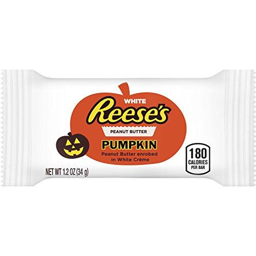 Reese's Halloween White Peanut Butter Pumpkins, 1.2 oz -