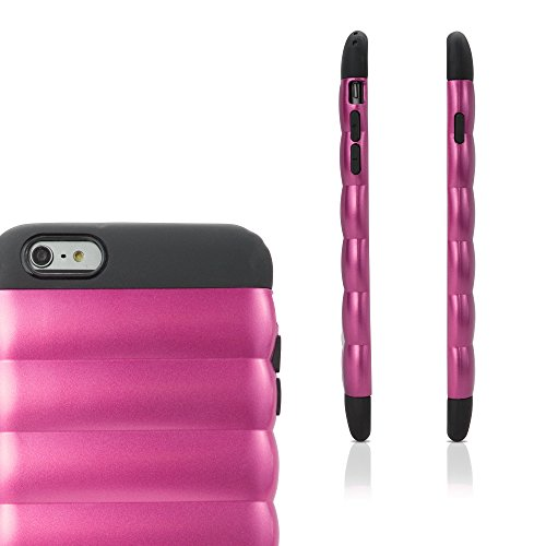 iPhone 6 Plus Coque, BoxWave® [ultrapuff] pour Apple iPhone 6 Plus, 6S Plus – Cosmo rose