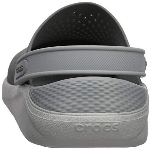 Smoke White Crocs Clog pearl Literide wv0fWfTq8