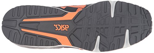 Asics Heren Gel-lique Fashion Sneaker Zwart / Oranje