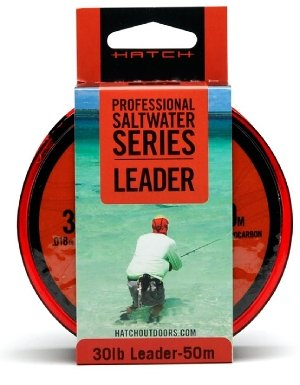 Hatch Saltwater Leader Material- 30lb Clear