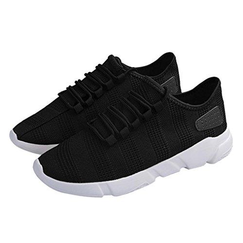 Sneakers Estive Da Lavoro Ginnastica Beautyjourney Sportive Running Nero Scarpe Uomo Corsa Casual RqIw6Z4BAx